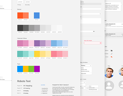 WebMail UI Guide Style