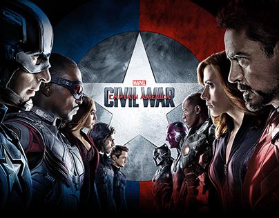 Captain America: Civil War Digital Campaign