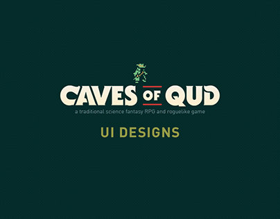 UI Designs for Caves of Qud