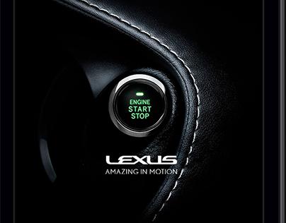 Lexus - Web design