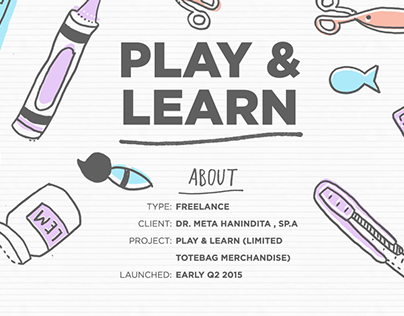 Play & Learn / Typography Doodles for dr. Meta H, Sp. A