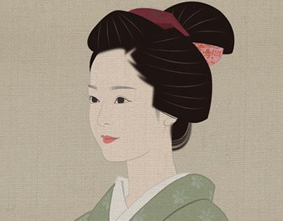 Sakura of samurai
