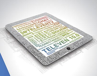 Aniversario Televen - Portada agenda