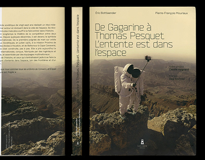 Book Design / From Gagarin to Thomas Pesquet