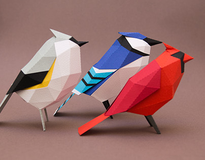 Aves de papel/ Paper birds