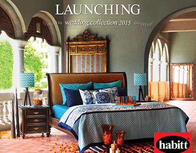 Habitt Wedding Collection campaign. 05/15