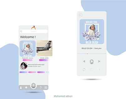 UI / UX for an ios music app