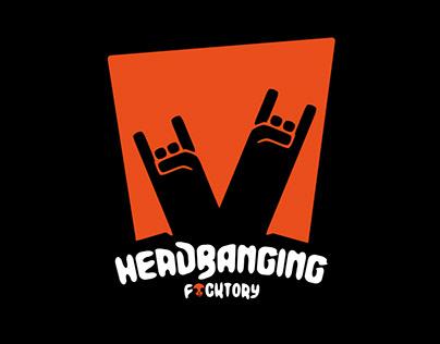 headbanging logo
