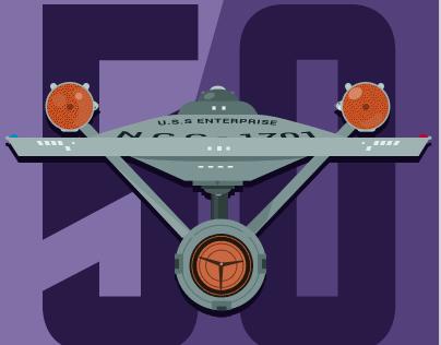 Star Trek 50th Anniversary Posters