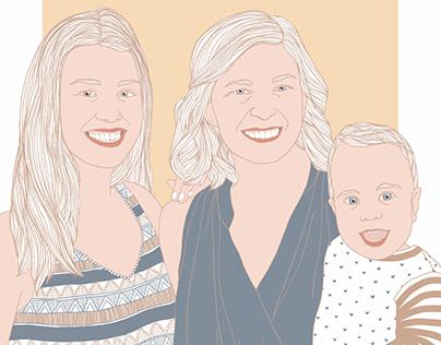 Familienportrait Nr.2
