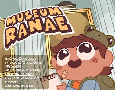 Museum Ranae - Game Jam Cultura Abierta 2020