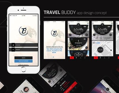 Travel Buddy 2016 Prototype App