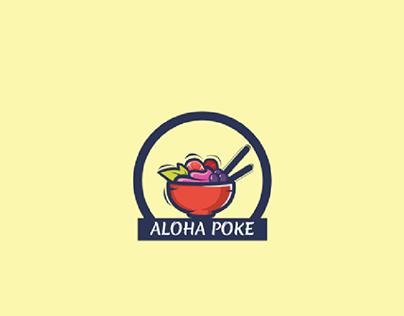 Aloha Poke Logo & Branding