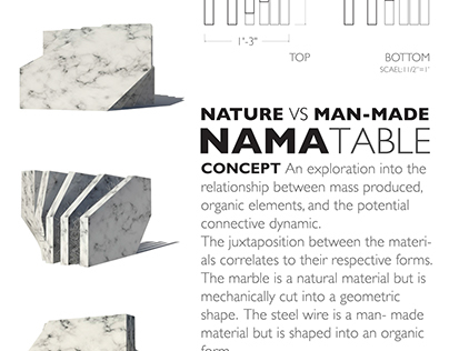 Furniture Design : Nama Table