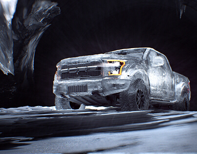 Ford F-150: Frozen Raptor