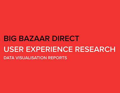 Big Bazaar Direct - User Experience Research Reports