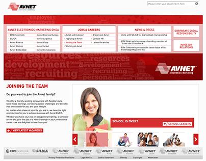 AVNET Electronics Marketing EMEA   concept