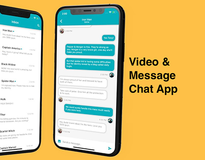 Text, Voice & Video Chat App