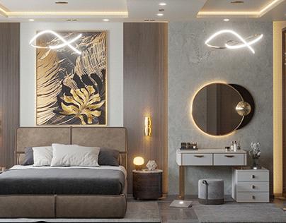 LUXURY MASTER BED ROOM