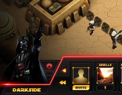 Star Wars - Disney / Diseño UI/UX