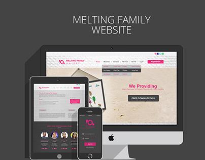 MELTING FAMILY Website & Mobile App