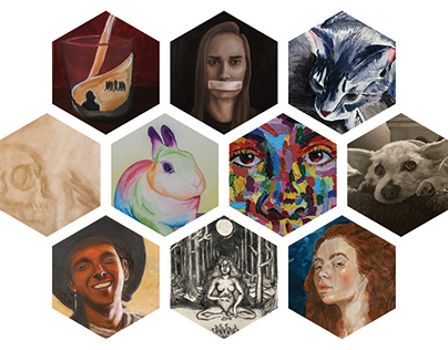 Passionate Perspectives Senior Art Show Image