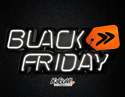 KaBuM! - 3D Logo Black Friday