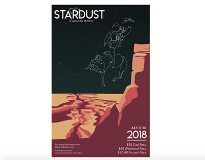 Stardust - A Galactic Rodeo Brand Campaign