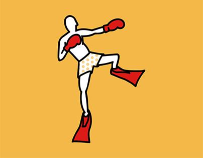 Boxe aquatique