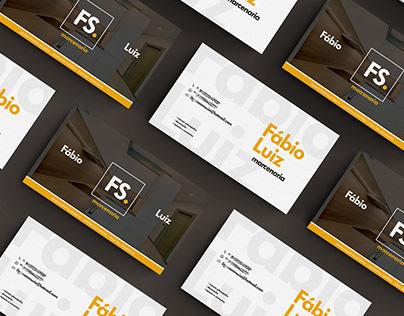 FS Marcenaria - business card