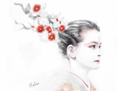 Tsubaki geisha 椿芸者
