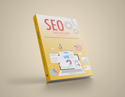 Bookcover design and lay-out SEO book