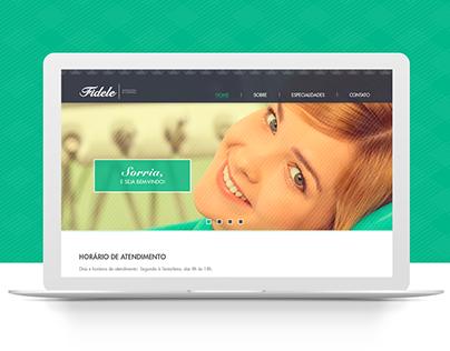 Fidele | Odontologia de Confiança - Website