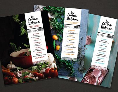"""""""La Cucina Italiana"""" Food Magazine"""