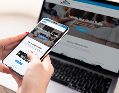 Media Transfer Website Redesign