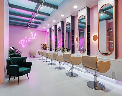 BLONDIE - interior design / 2019