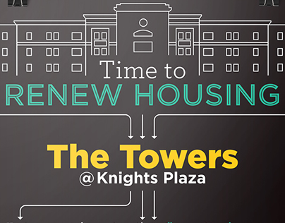 Towers @ Knights Plaza UCF housing campaign