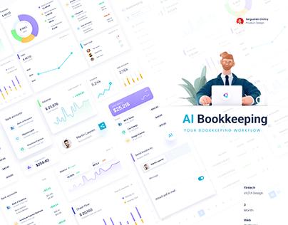 Bookkeeping Artificial Intelligence | FinTech UX/UI