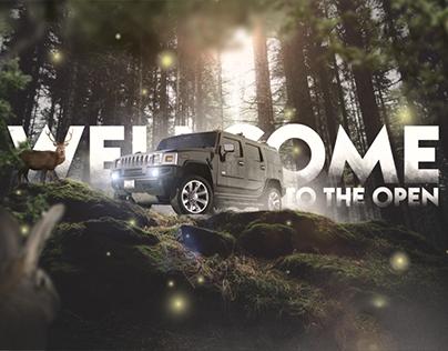Hummer Poster Design