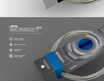 Product packaging, RPM Fitness Speed Rope Series