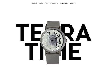 Terra Time // UI DESIGN