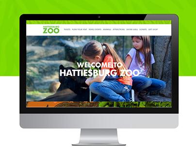 Hattiesburg Zoo: New Website