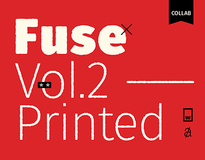 Fuse Vol.2 Printed — typeface