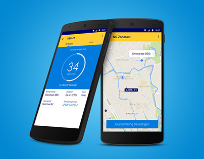 NS Zonetaxi iPhone & Android taxi booking