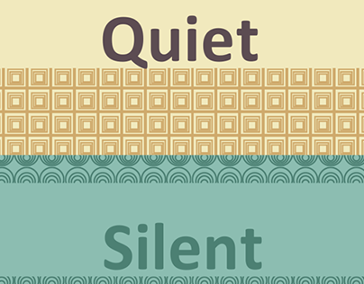 Library Commons - Quiet Zone Poster Promotion