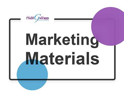 Hotelgate Marketing Materials