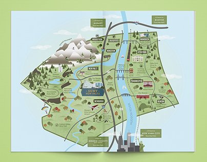 SUNY New Paltz: Ulster County Map