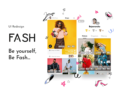 Fashion Mobile App Redesign