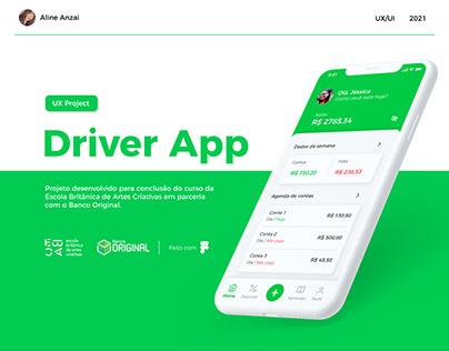 App motorista de aplicativo - Ebac/Banco Original