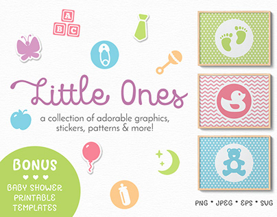 Little Ones Graphics Collection
